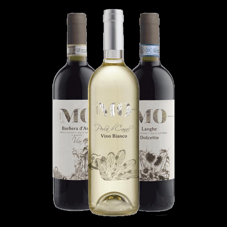 """Box """"Classici"""" 3 bottiglie - Azienda Vitivinicola MO"""